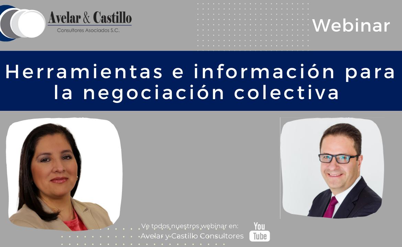 Webinar: Herramientas e información para la negociación colectiva